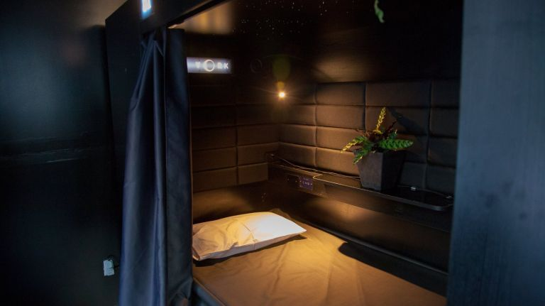 Eco-pod at Nap York | Creative experiential design